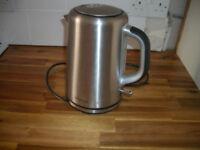 Brabantia stainless steel jug kettle GWO