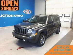 2015 Jeep Patriot LEATHER! SUNROOF! 4X4! NEW TIRES!