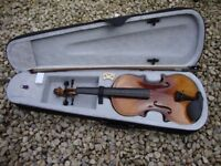 Full Size Violin,4/4 Gear For Music,In Classic Vintage Finish.