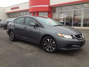2013 Honda Civic EX| LOCAL LEASE RETURN| PWR SUNROOF| ALLOY RIMS