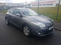 2010 Renault Megane 1.5 DCi Dynamique, £30 Road Tax, Years MOT, Warranty