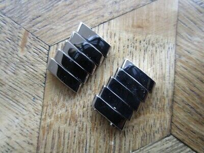 Vintage Genuine St. Steel BREITLING Links for Pilot Bracelet. 16 mm.