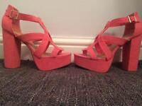 Brand New Coral Shoes