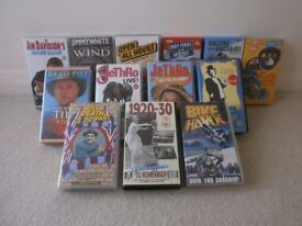 Selection of 13 pre recorded VHS tapes
