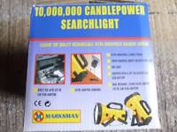 MARKSMAN 10,000,000 CANDLEPOWER SEARCHLIGHT 31055C
