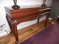 Reproduction antique hall table