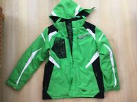 Spyder ski suit to fit age 15/16 (boys), jacket, trousers and beanie hat
