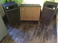 100W Speakers and Carls bro 100w subwoofer