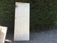 White Interia Doors - 5 Available