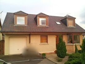 Lovely Double Room in Detached House, Auchleven near Insch