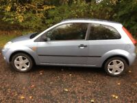 2005 Ford Fiesta 1.4 Zetec 3dr (1 years MOT) ONLY 60,000 Miles Petrol manual