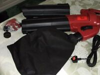 ELECTRIC GARDEN VAC / VACUUM & LEAF BLOWER (Brand New & Boxed)