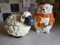 Animal Ceramic Jars