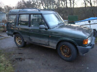 Land Rover Discovery 300tdi - spares or repair