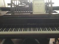 Art Deco Baby Grand Piano. £500.