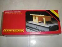 Hornby Railways 00 Gauge Scale Model Platform Shelter R510 with Original Box