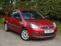 2007 Ford Fiesta 1.25 style **Mot'd to March 2018** not focus clio megane astra 307 yaris 207 ka