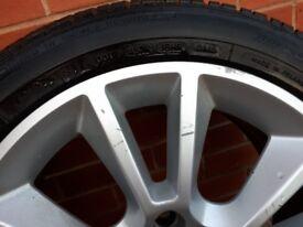 """Vauxhall 17"""" se/vxr alloys wheels"""