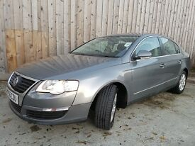 2006 VOLKSWAGEN PASSAT SE TDI 140 GREY 2.0 DIESEL VERY LOW MILES V5 DRIVES GREAT P/X WELCOME/OFFERS
