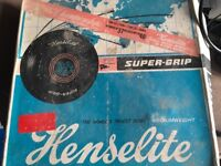 Henselite championship bowling balls. 4 13/16 .Original box