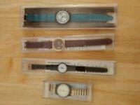 Vintage Swatch Watches x 4