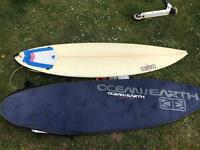 DHD surf board good condition