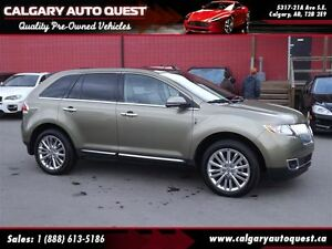 2013 Lincoln MKX 4WD/NAVI/B.CAM/LEATHER/PANO-ROOF