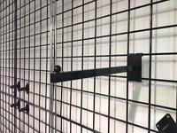 Shop floor grid wall system