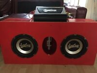 Car subs and amps