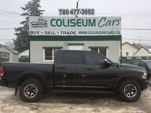 2016 Dodge Ram 1500 REBEL, 4X4, LEATHER, NAV, LOADED, 3KM