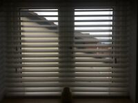Wooden Blinds Soft White 114x97cm