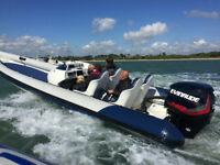 Phantom Evolution RIB with 250 ETC Evinrude HO Outboard - £24000 ONO