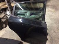 Seat Leon o/s rear door black 06-12