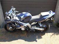 Honda CBR600F-2 motorcycle