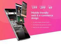 London web design, development, SEO from £199 - get online in 7 days