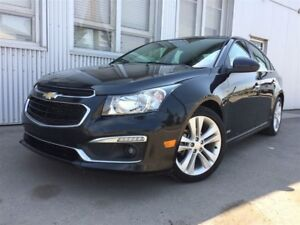 2015 Chevrolet Cruze 2LT  RS, LEATHER, SUNROOF, REAR VIEW CAMERA