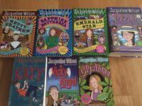 7 x Jacqueline Wilson Books (Hetty Feather series, etc)