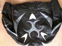 Retro Motorcycle Jacket with Reinforcements