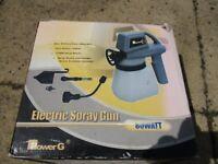 Electric spray gun 80 watt