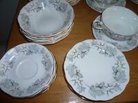 Royal Albert Silver Birch Dinner Set