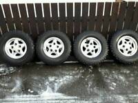 Land rover discovery wheels and tyres 4x4