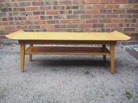 Retro mid century modern style coffee table