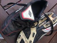 Umbro football boots child's size 12