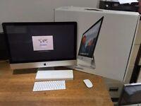 """Apple iMac 27"""" Late-2015 5k Retina 16GB RAM 1TB HDD Immaculate Boxed MK462B/A"""