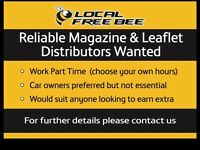 Magazine & Leaflet Distributors Wanted