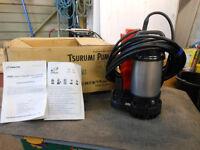 Tsurumi pump brand new never been used 240v