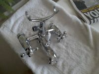 Mixer taps for bath/shower victorian style