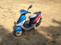 Pulse scout 50cc scooter 2011 model
