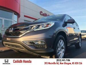 2015 Honda CR-V EX-L | LOW KMS|CERTIFIED!