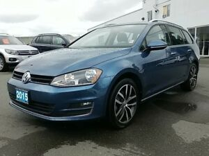 2015 Volkswagen Golf 1.8 TSI WAGON ! Highline ! BC CAR !